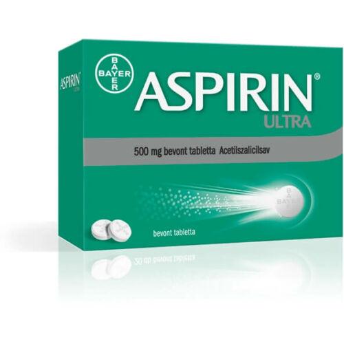 ASPIRIN ULTRA 500MG BEVONT TABLETTA 40X