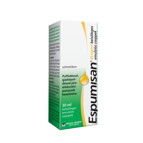 ESPUMISAN  40MG/ML BELSPLEGES EMULZIÓS CSEPP 1X30ML