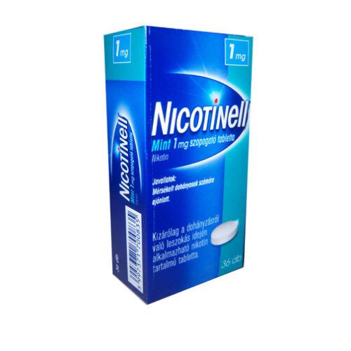 NICOTINELL MINT 1 MG SZOPOGATÓ TABLETTA 36X
